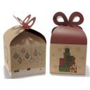 grossiste Cadeaux et papeterie:boîte de cadeau de Noël