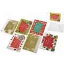grossiste Cartes de vœux: carte de voeux de Noël cadre photo