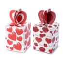 hurtownia Upominki & Artykuly papiernicze: Pudełka na karty hurtowe serca