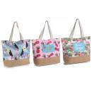wholesale Decoration: Tropical design woven sea bag wholesalers