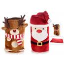 wholesale Bedlinen & Mattresses: wholesalers blancket christmas plush