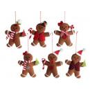 groothandel Woondecoratie: Groothandel kerstversiering gingerbread man ...