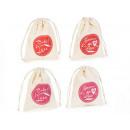 groothandel Asbakken: Love print katoen bags groothandel