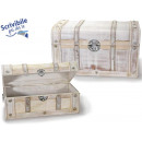 groothandel Meubels: Wit hout kofferbak vintage