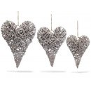 wholesale Garden Furniture:Rattan hanging hearts