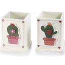 Hurtownik długopisy drewniane dekoracje kaktus