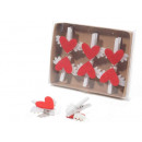 wholesale Laundry: Wholesale clothespins hearts cloth wings