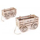 wholesale Figures & Sculptures: Wholesale decorative wooden carts
