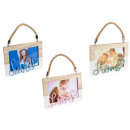 wholesale Pictures & Frames: Wholesale wooden rope photo holder