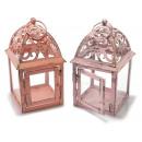 ingrosso Giardinaggio & Bricolage: Lanterne metallo colorato