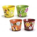 grossiste Pots de fleurs & Vases: Métal couvercle pot coloré