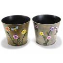 groothandel Bloemenpotten & vazen: Cover pot metal bloemendecoraties