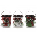 groothandel Bloemenpotten & vazen: Christmas Metal toiletbril