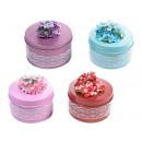 grossiste Décoration: boîtes métalliques  Grossiste fleurs décoratives
