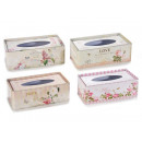 Wholesaler box floreal metal handkerchiefs