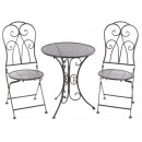 Wholesalers metal garden chairs tables