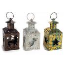 Wholesale Christmas metal candle holder lanterns