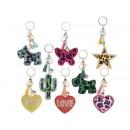 ingrosso Beads & Charms: Ingrosso porta chiavi charm colorati
