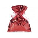Envelope Gift Bag Metallic Red