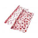 Folien-Geschenkkarte Herzen
