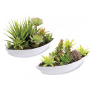 wholesale Artificial Flowers: Fake succulents composition