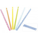 colored straw