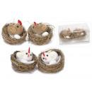 grossiste Décoration: poulets en gros  décorations de Pâques