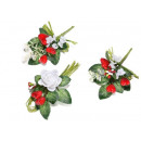 Wholesale red hearts bouquet artificial flowers