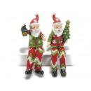 grossiste Figurines & Sclulptures: Père Noël résine décorative