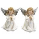mayorista Otro:ángel de plata de resina