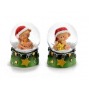 wholesale Snow Globes: Wholesale Christmas snowman bear balls