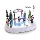wholesale RC Toys: Christmas skating rink wholesaler Movement type