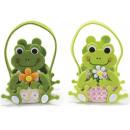 grossiste Figurines & Sclulptures:Tissu sac grenouille