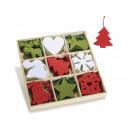 Kerst doek decoraties