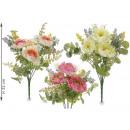nagyker Otthon és dekoráció: Nagykereskedelmi művirág csokor bazsarózsa
