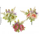 Wholesale bouquet of peonies and artificial flower