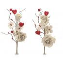 Hurtownie oddział różowy dekoracyjny juta