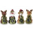 groothandel Home & Living: Groothandel pluche Kerstmis zak snoep deur