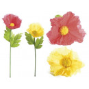 Wholesaler poppies giant artificial flowers