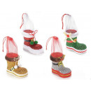 Wholesale Christmas boot for sweets