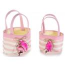 Großhändler Tuch Handtaschen Dekor Flamingo