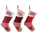 Großhandel Strümpfe & Socken: Großhandel Weihnachtsstrümpfe für Süßigkeiten