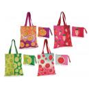 Großhandel Taschen & Reiseartikel: Großhändler Set Obstbeutel Clutch Bag