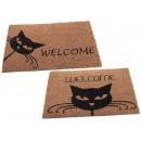 wholesale Garden playground equipment: Cat design doormat wholesaler