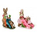 Nagykereskedelmi nyulak húsvéti természetes rost a