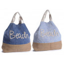 wholesale Jeanswear: Wholesale jute jeans beach bag