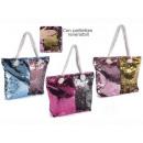 Großhandel Reise- und Sporttaschen: Reversible Paillettenhandtasche n Großhändler