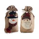 Christmas gift bag wholesaler jute