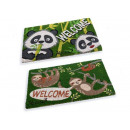 wholesale Garden playground equipment: Welcome doormats welcome panda non-slip sloth