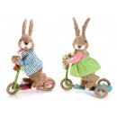 Rabbit wholesaler of natural fiber scooter